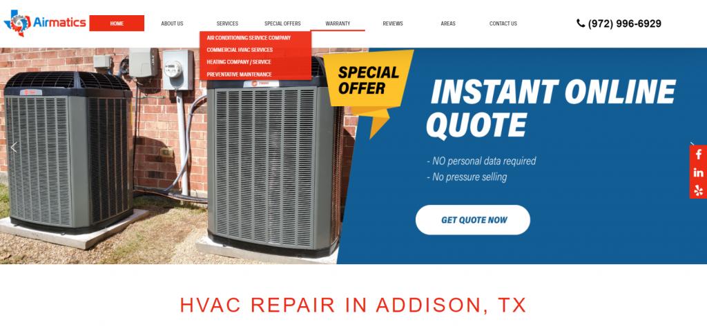 Airmatics Website