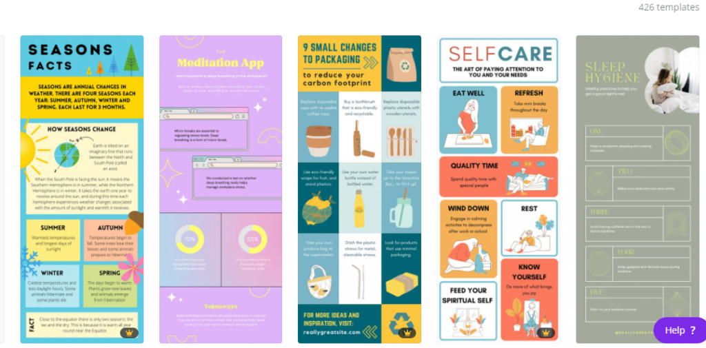 Canva Infographic Templates