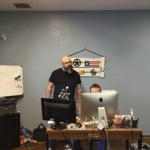 Creative Director Proofreads HVAC Website