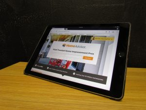 HVAC HomeAdvisor Tablet