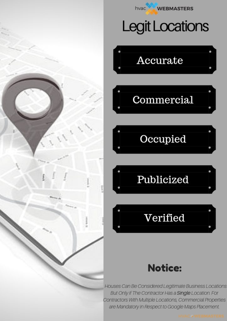 HVAC Business Locations Infographic