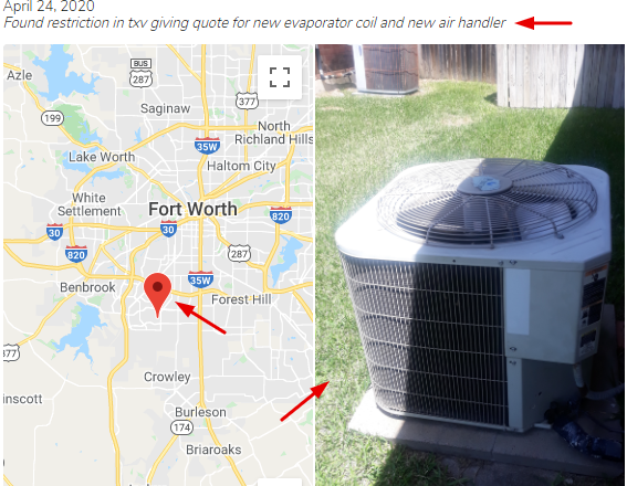 HVAC Check-in Example