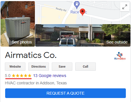 HVAC Company Online Reputation
