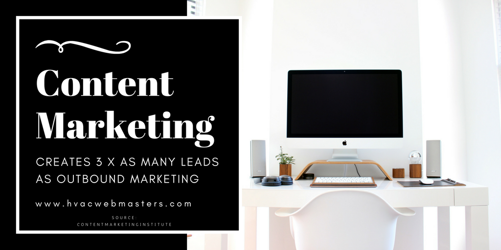 HVAC Content Marketing Graphic