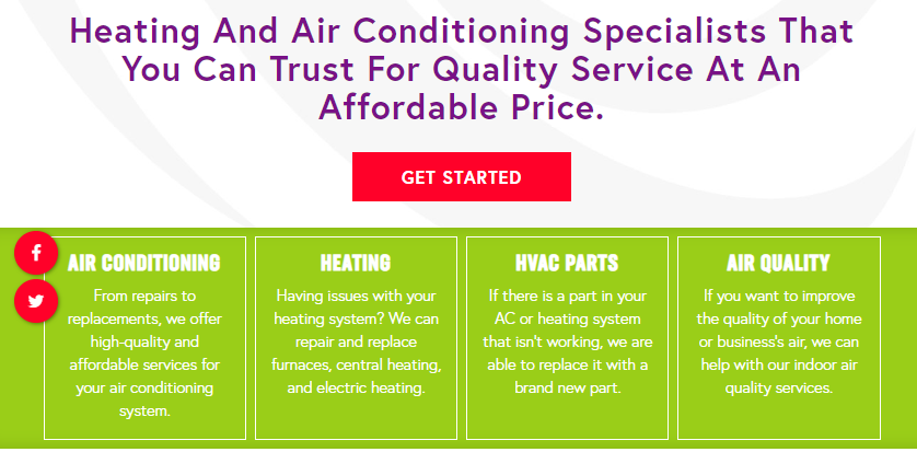 Showing How Concise Design Helps SEO for HVAC Professionals