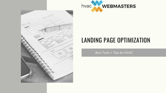 HVAC Landing Page Optimization