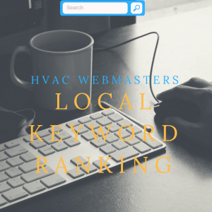 HVAC Local Keyword Ranking Management Graphic