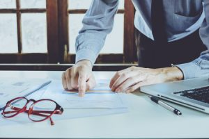 Businessman Reviews HVAC Marketing Statistics
