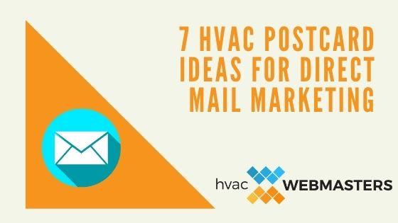 HVAC Postcard Ideas