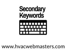 HVAC Secondary Keywords Graphic