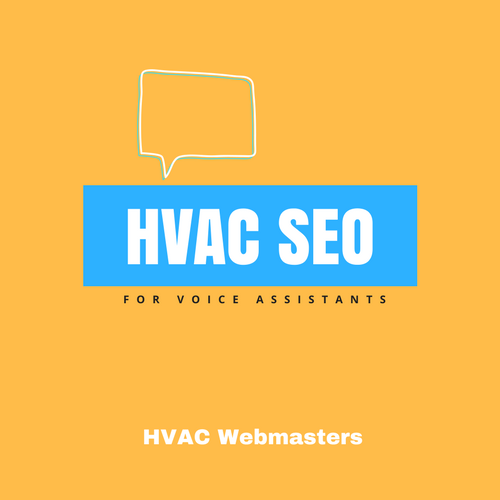 HVAC SEO For Voice Search Graphic