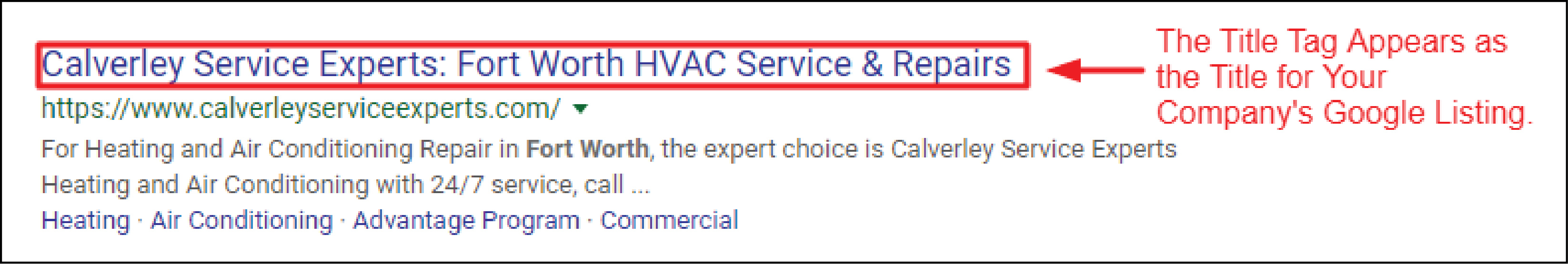 HVAC Title Tag