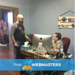 HVAC Webmasters responsive design