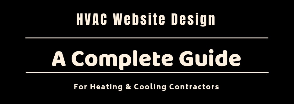 HVAC Website Design Guide Cover