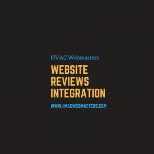 HVAC Website Reviews Integration