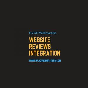 HVAC Website Reviews Integration