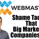 Marketing Shame Tactics Podcast Card