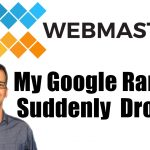 My Google Ranking Suddenly Dropped Podcast Card