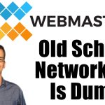 Old School Networking is Dumb Podcast Card