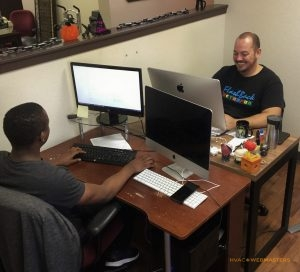 Programmers Set Up Virtual Office Location For HVAC Company