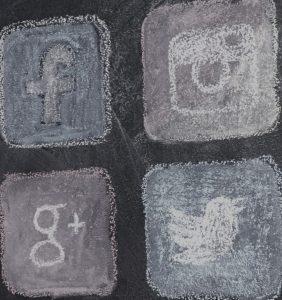 Social Media Advertising Icons