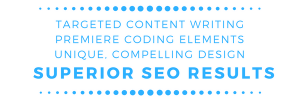Targeted Content Writing, Premiere Coding Elements, Unique, Compelling Design, Superior HVAC SEO Results